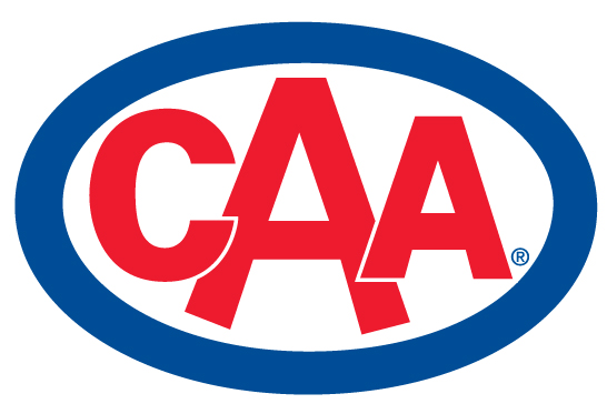 CAA logo and a link to their website